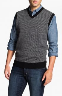 Toscano Merino Wool Blend Sweater Vest