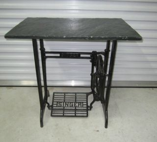 SUPER INDUSTRIAL~MACHINE AGE SINGER SEWING MACHINE BASE / TABLE GREAT