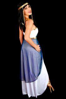 G20 Ladies Cleopatra Egyptian Goddess Fancy Dress Halloween Costume