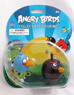 Angry Birds Figurines Blue Black Commonwealth 10521
