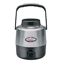 Coleman 1 3 Gallon Stainless Steel Belted Jug Water Sport Quart Out