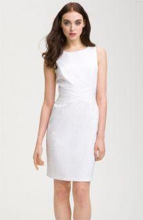 Donna Ricco Jacquard Sheath Dress