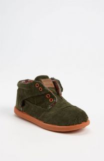 TOMS Botas Corduroy Boot (Baby, Walker & Toddler)
