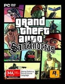 GTA Grand Theft Auto San Andreas PC Brand New