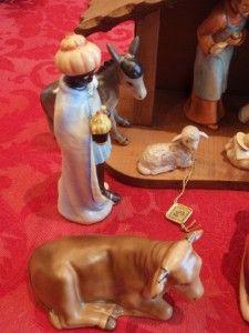 Hummel 214 15 Piece Nativity Set in Boxes incl Angel Xtra Goebel