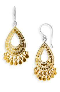 Anna Beck Flores Open Drop Earrings