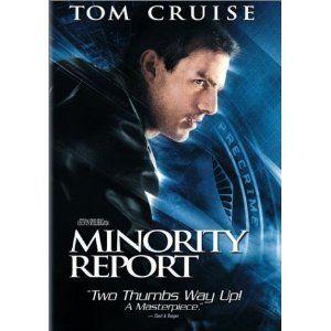 DVD Minority Report Tom Cruise Colin Farrell 667068998924