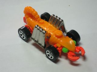 Collectible Orange Colored Diecast Hot Wheels Animal Scorpion? Toy Car