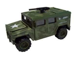 Diecast Army Hummer Military Model Soldier Truck Car Play Collectible