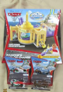 Disney Cars Ramones Color Changers Car Wash Playset New Toys R Us