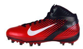 Nike Air Zoom Alpha Talon D Sz 14 Mens Football Cleats Black/White