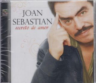 Joan Sebastian CD NEW Secreto De Amor Y Mas 10 Exitos De Coleccion