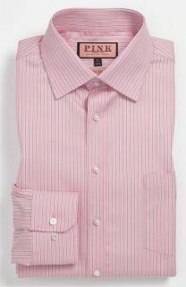 Thomas Pink Slim Fit Traveller Dress Shirt