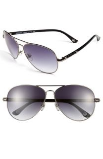 MICHAEL Michael Kors Metal Aviator Sunglasses