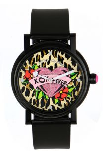 Betsey Johnson Lots n Lots of Time Heart Dial Watch