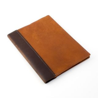 Leather Composition Notebook Cover   Saddle   Handmade