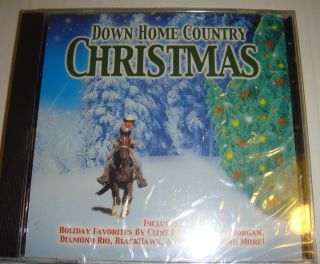 Clint Black and more Music CD Down Home Country Christmas Hoilday