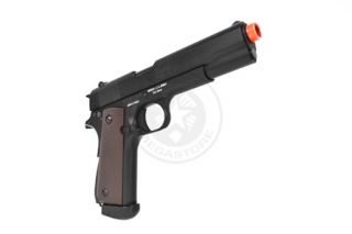 Colt Licensed Full Metal M1911 WWII Semi Auto Blowback Airsoft Gas CO2