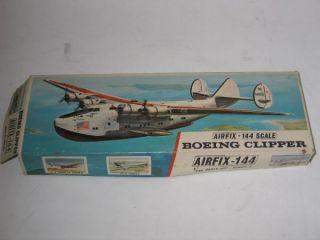 RARE Vintage Boeing 314 Clipper Model Flying Boat Kit