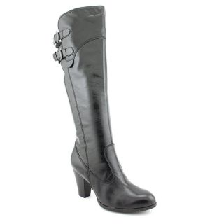 Born Collette Womens Size 9 Black Leather Fashion Knee High Boots