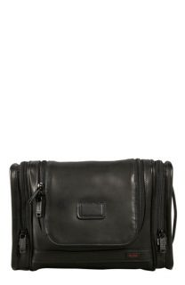 Tumi Alpha Collection Hanging Leather Travel Kit