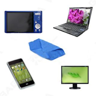 3pcs computer lens lcd led monitor screen cleaning microfiber cloth