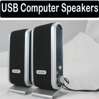 Stereo Mini Power Computer Speakers Speaker for Laptop PC New
