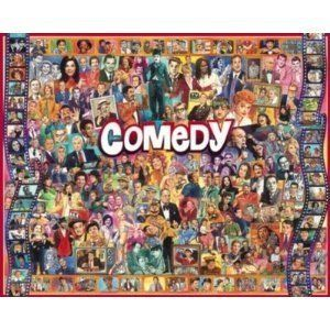 New White MT 1000 PC Jigsaw Puzzle Comedy Comedians USA