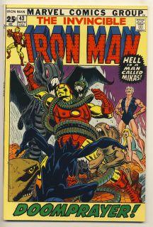 Iron Man 43 VF 1st Guardian Marvel Comics Giant 1971