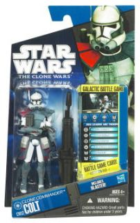 Star Wars Clone Wars Commander Colt Action Figure CW52