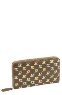 Orla Kiely Tiny Teacup Print   Big Wallet
