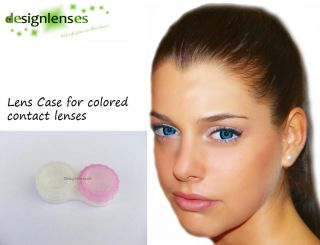 Lens Case for Colored Contact Lenses