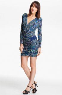 Mara Hoffman Print Drape Front Dress