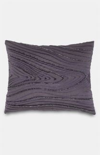 donna karan flokati fur decorative pillow