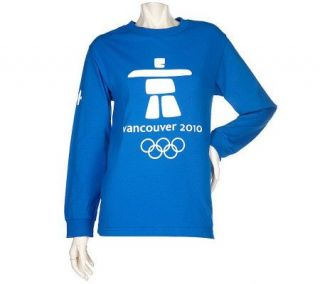 Vancouver 2010 Classic Logo Long Sleeve T Shirt —