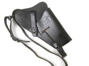 Army M7 Leather Shoulder Holster Colt M1911 Pistol 45ACP Nice