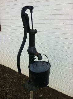 Vintage Antique Cast Iron Columbiana Water Well Hand Pump