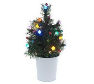 Bethlehem Lights BatteryOperated 12 Noble Tree with Ornaments