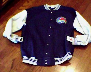 Columbus Blue Jackets Clubhouse Jacket XL 2XL Vinta