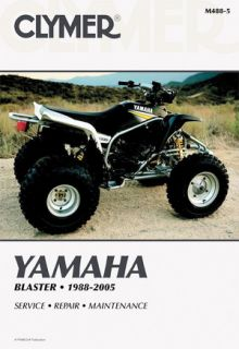 Clymer Repair Service Manual Yamaha YFS200 Blaster 88 05