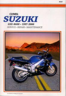 clymer repair service manual suzuki gsxr600 97 00 whether it s simple