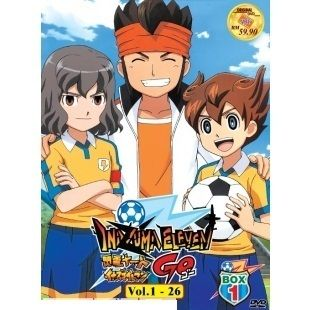 Inazuma Eleven Go Complete TV Series DVD Box 1