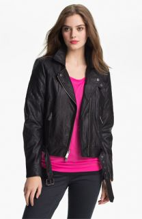 Two by Vince Camuto Faux Leather Moto Jacket