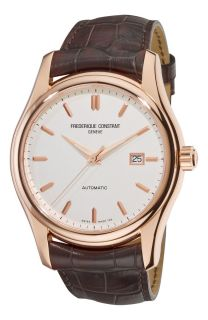 Frederique Constant Mens Clear Vision Automatic Rose Gold Watch