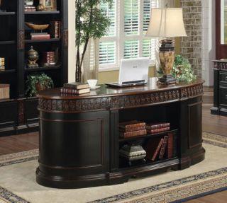 Nicolas Executive Home Office Desk by Coaster Furniture