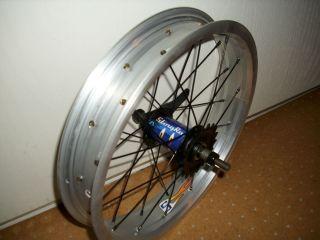 Schwinn Stingray chopper Jr 16 rear coaster brake wheel tire