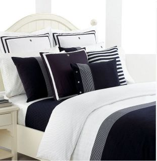Tommy Hilfiger Williamstown Blue White Full Queen Comforter Set