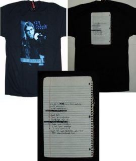 Kurt Cobain Photorealistic Black Hot Topic Anvil 2XL XXL T Shirt New