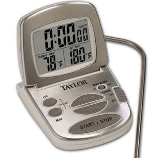 Taylor Gourmet Digital Cooking Thermometer Timer 1478