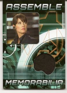 2012 Marvel Avengers Assemble Cobie Smulders Maria Hill Memorabilia